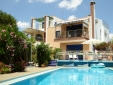 Carob Tree patio - one of our breakfast locations!