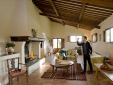 Countryside swimming pool, with trees providing shade. (Brentina)