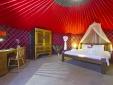 Eco Chiquitita Yurts - inside the largest Yurt