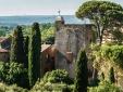 Tour Sarrazine de Montaren Uzès Provence France