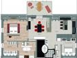 Floor plan apartment Juno