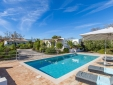 Staying at Casa Caranguejo Loulé Algarve Portugal pool sunbeds relaxation swimming