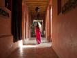 In the hallways...