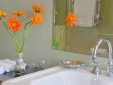 Luxurious finishings in all bathrooms