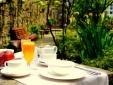 Costa Vella Galicia Spain Breakfast Garden