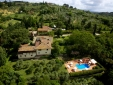 Relais Marignolle and the Dome of Florence on the back