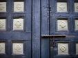 Riyad El Cadi Marrakesh boutique - Door pattern