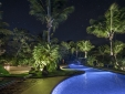 Pousada Toca da Coruja Pool by night